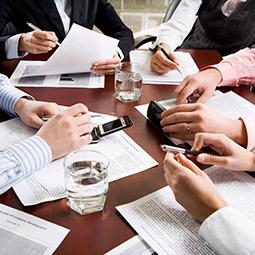reunión con inversionistas